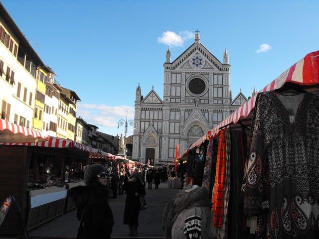 Mercatino di Natale in Santa Croce a Firenze