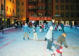 Pista di Pattinaggio a Innsbruck