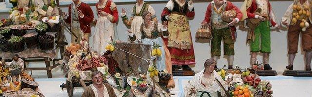 Mercatino di Natale a Napoli: Il presepe Napoletano