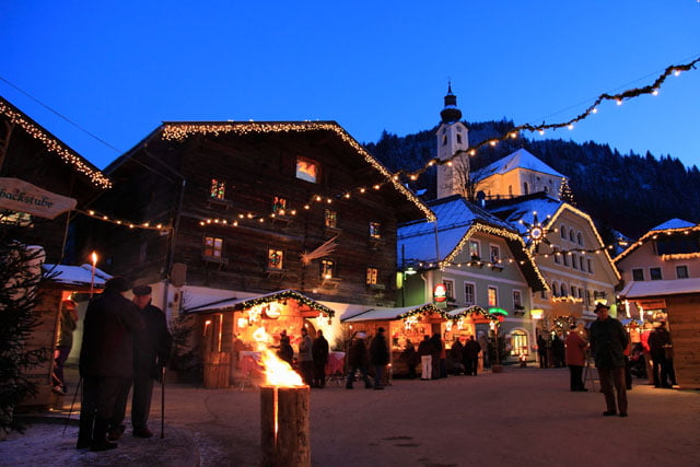 Grossarl Salisburgo Mercatini di Natale 2015