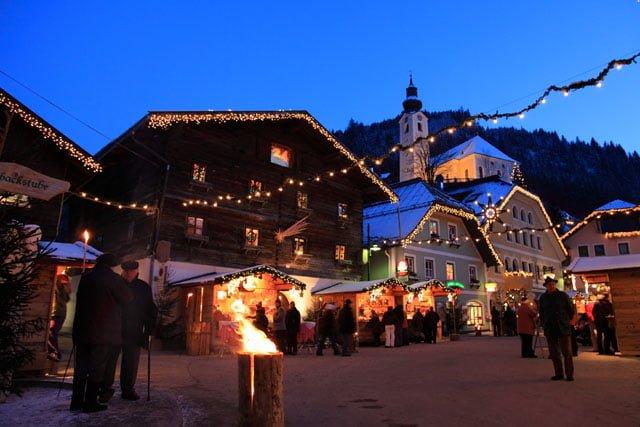 Grossarl Salisburgo Mercatini di Natale 2016