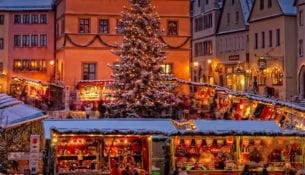 Rothenburg ob der Tauber Mercatini di Natale 2017