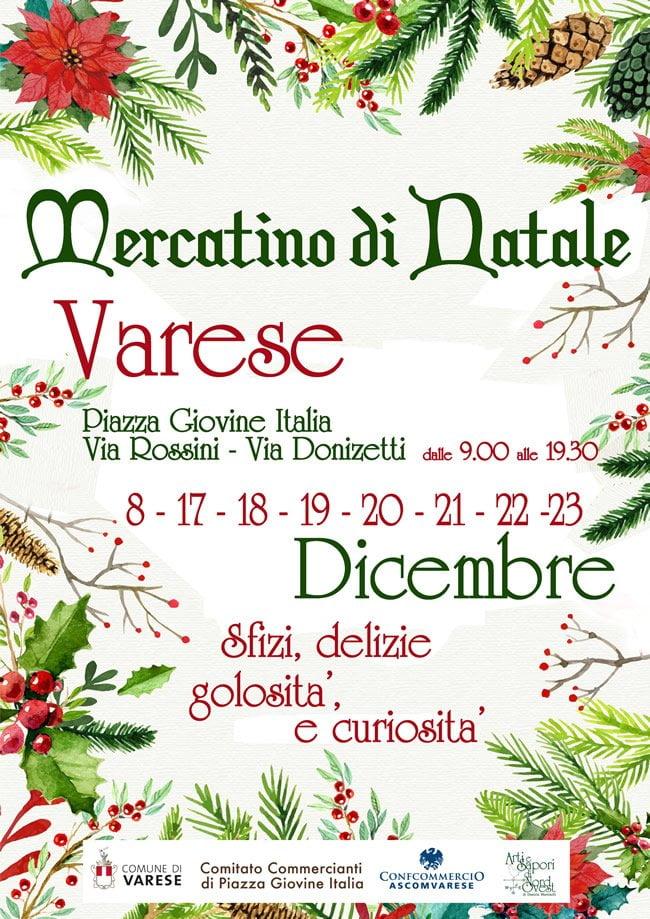 Varese mercatini di natale 2017 for Mercatini di natale milano 2017