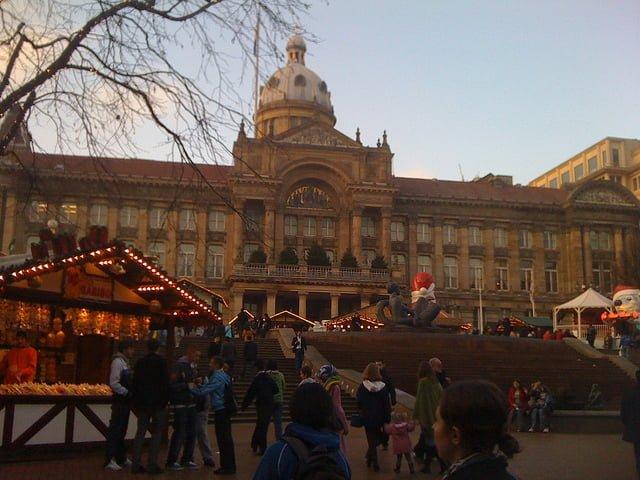 Mercatini Natale a Birmingham