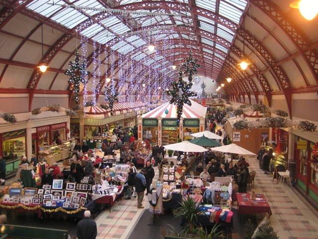 Newcastle Christmas Markets 2013