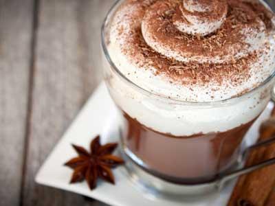 Ricetta della cioccolata calda for Immagini caffetteria