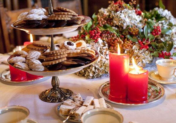 Natale ricette natalizie la festa del palato - Addobbi natalizi per tavola da pranzo ...