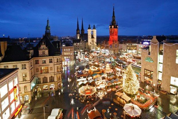 Halle an der Saale Mercatino di Natale