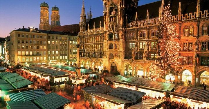 Natale Romantico Mercatini di Natale di Monaco di Baviera