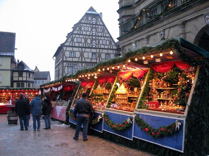 Natale Romantico Mercatini di Natale di Rothenburg ob der Tauber
