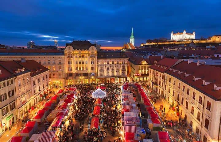 Bratislava Mercatini di Natale 2017