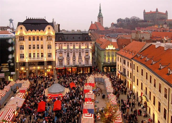 Bratislava Mercatini di Natale 2020