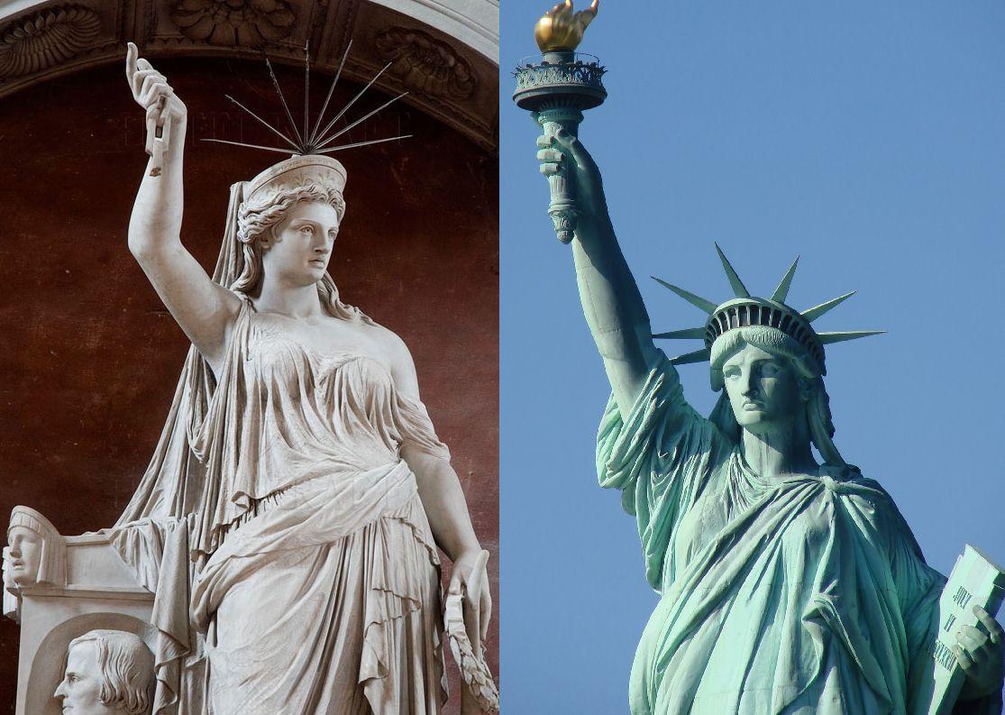 L 39 ispirazione della statua della libert a 2 passi dal for Sistemazione new york