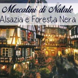 Tour ai Mercatini di Natale Alsazia e Foresta Nera