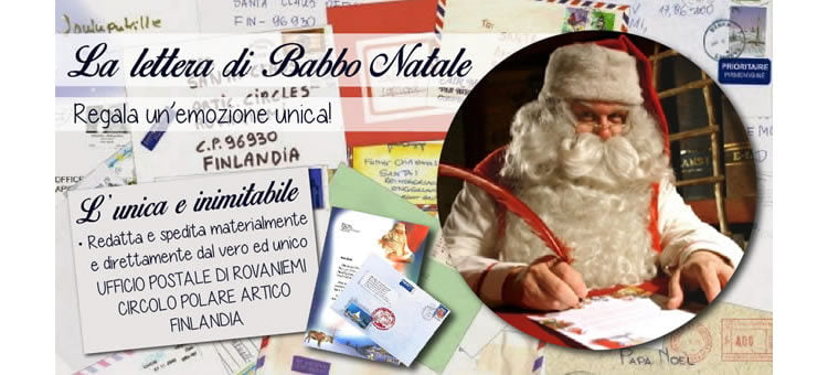 Babbo Natale Originale.Letterina Babbo Natale Ev Mercatini Di Natale 2019 La Guida