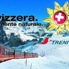 In treno da Milano alle città svizzere da 25 euro a tratta.