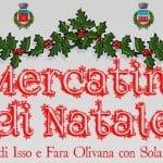Isso e Fara Olivana con Sola Mercatini di Natale 2017