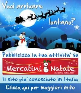 Pubblicità Mercatini di Natale