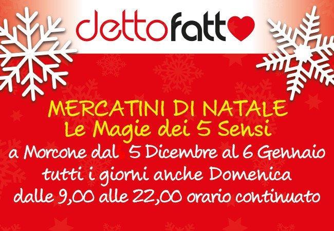 mercatini natale Morcone Mercatini di Natale Campania