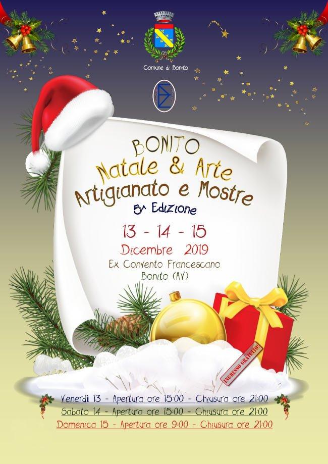 "mercatini natale ""Bonito, Natale & Arte"" & ""Bonito, Street Food Festival"" width="