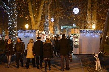 Mercatino di Natale al Parco Zrinjevac_Zagabria