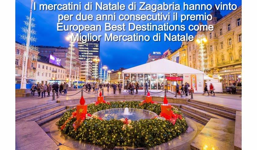 Zagabria mercatini di natale 2018 tutte le informazioni for Mercatini natale trieste