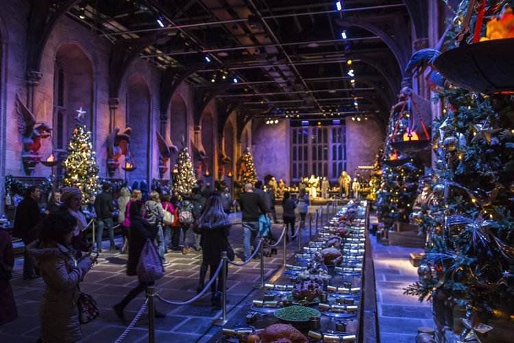 Nevica a Hogwarts