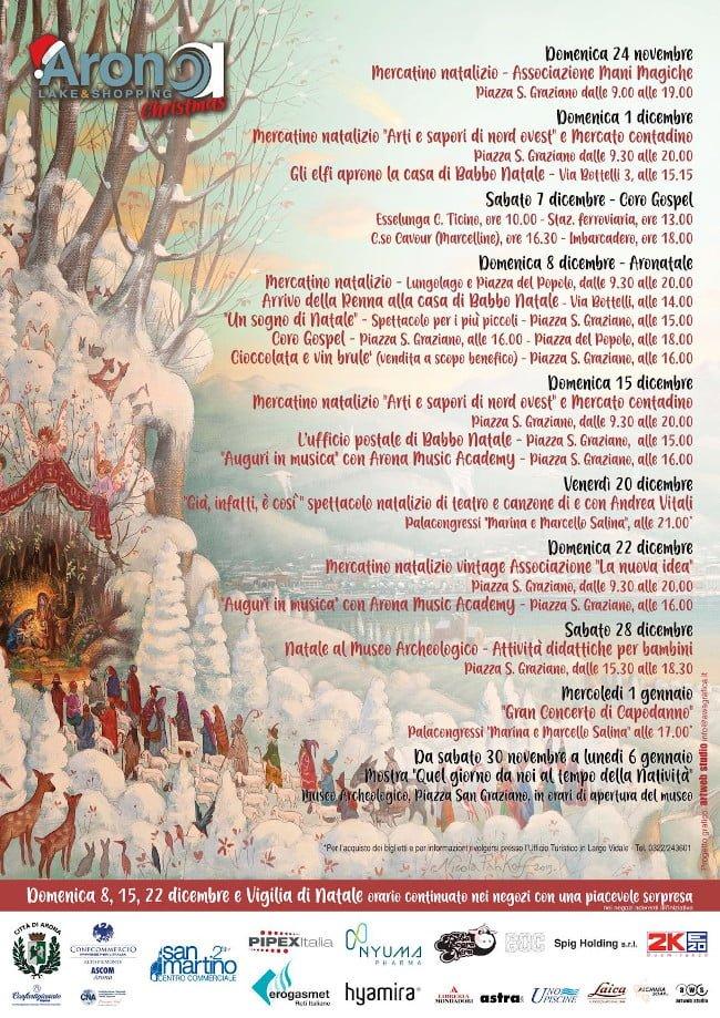Arona Mercatini di Natale 2020