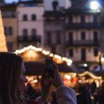 Mercatini di Natale Arezzo Villaggio Tirolese in piazza Grande