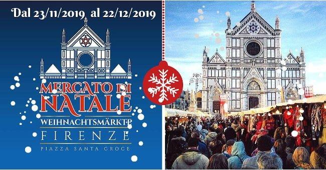 Mercatini di Natale Firenze Santa Croce