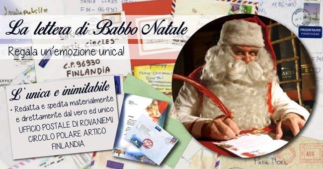 Letterina di Babbo Natale