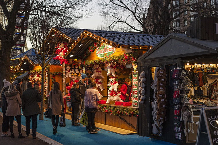 esporre ai mercatini di Natale
