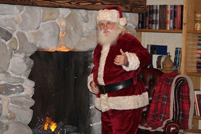 Il vero Babbo Natale per eventi