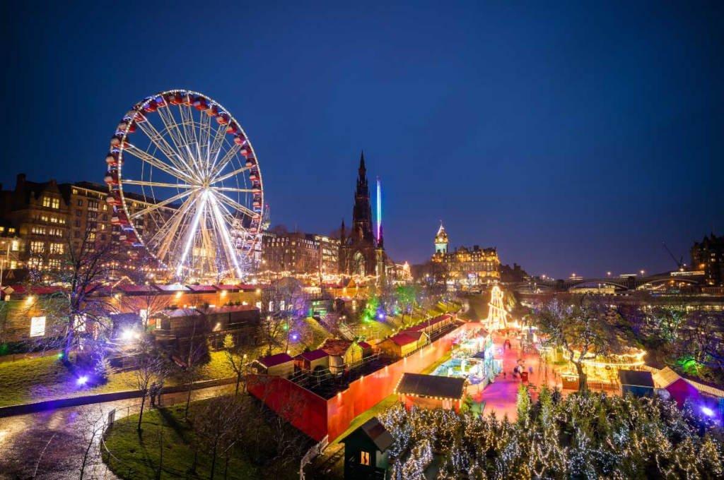 Mercatini di Natale di Edinburgo